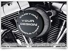 Harley Davidson STAGE 1 AIR CLEANER COVER  - CUSTOM ENGRAVED