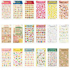 Afrocat Paper Doll Sticker Diary Planner Calendar Cute Kawaii Decor Decal Tape