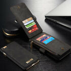 Leather Removable Magnetic Wallet Flip Card Case Cover for iPhone 6 6s