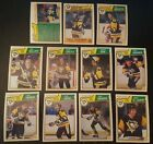 1983-84 OPC PITTSBURGH PENGUINS Select from LIST NHL HOCKEY CARDS O-PEE-CHEE