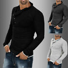 Luxury Men's Casual Long Sleeve Slim Fit Stylish Dress Shirts Formal Shirt Tops