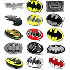 BBUM0105 CASUAL STYLES BATMAN SUPERHERO HERO COMICS ALLOY METAL BELT BUCKLE