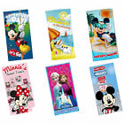 Disney: Bath/Beach Towel Official Mickey Mouse Minnie Mouse Frozen - New + Tag