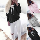 New Women Casual Sweatshirt Long Sleeve Autumn Pullover Jumper Hoodie Blouse Top