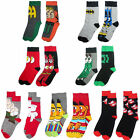 Flash/Sesame Street/Ghostbusters/Family Guy/Batman - Adult Sock Twin Pack