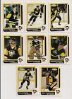 1986-87 OPC PITTSBURGH PENGUINS Select from LIST NHL HOCKEY CARDS O-PEE-CHEE