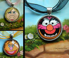 SALE LAST FEW - MUPPETS SESAME STREET NECKLACE PENDANT ANIMAL FOZZIE BEAR
