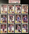 1987-88 OPC EDMONTON OILERS Select from LIST NHL HOCKEY CARDS O-PEE-CHEE