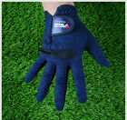 1pc Men's Dark Blue Soft Golf Glove Gloves Microfiber fabric Comfortable Hot