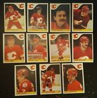1985-86 OPC CALGARY FLAMES Select from LIST NHL HOCKEY CARDS O-PEE-CHEE