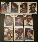 1985-86 OPC ST.LOUIS BLUES Select from LIST NHL HOCKEY CARDS O-PEE-CHEE