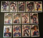 1985-86 OPC WINNIPEG JETS Select from LIST NHL HOCKEY CARDS O-PEE-CHEE