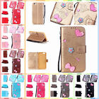 "For Apple iPhone7 4.7"" Finished DIY Gadget Case Anti-lost Strap PU Leather Cover"