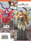 Fairy Fantasy Costume WING PATTERN 1550 Simplicity Sz6-22 Witch Hat Wings corset