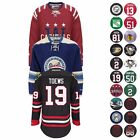 NHL Official Premier Player Team Jersey Collection by REEBOK Mens