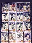 1980-81 OPC HARTFORD WHALERS Select from LIST NHL HOCKEY CARDS O-PEE-CHEE