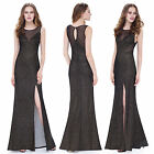 Ever Pretty Women's Black Elegant Sleeveless Long Evening Party Prom Dress 08952