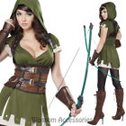 CA52 Lady Robin Hood Huntress Warrior Medieval Isabel Archer Womens Costume