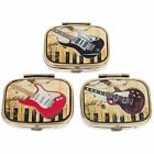 Pill Box Electric Guitar Double Section Travel Size 56520