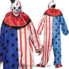 CA64 Evil Clown Mens Halloween Circus Horror Scary Fancy Dress Up Costume Outfit