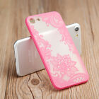 """FOR APPLE IPHONE 7 PLUS 5.5"""" PINK FLORAL FLOWER SLIM REAR HARD CASE PHONE COVER"""
