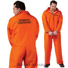 CL141 Got Busted Mens Cell Mate Orange Prisoner Fancy Dress Costume Plus Size