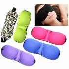 2016 Travel Home Sleeping 3D Eye Mask Shade Cover Rest Eyepatch Blindfold Shield