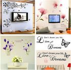 Creative Removable Wll Sticker Art Vinyl Quate Home Room Decor Decal Crafts Gift