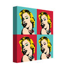 """""""Marilyn 9"""" by Mark Ashkenazi Graphic Art on Wrapped Canvas"""