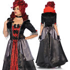 CA72 Leg Avenue Blood Countess Vampire Dracula Goth Gown Halloween Dress Costume