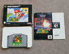 (pa2) Nintendo 64 N64 Video Game Super Mario 64 Complete Boxed PAL