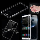 Clear Thin TPU Case Soft Silicone Back Cover Skin For Huawei Honor Ascend Phones