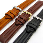Ribbed Genuine Leather Watch Band Strap By CONDOR 18mm 20mm 22mm 057R