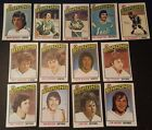 1976-77 OPC CLEVELAND BARONS Select from LIST NHL HOCKEY CARDS O-PEE-CHEE