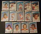 1976-77 OPC WASHINGTON CAPITALS Select from LIST NHL HOCKEY CARDS O-PEE-CHEE