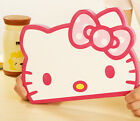 hello kitty head shape  pu Leather SMART Case Cover For Apple ipad mini ipad air