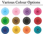 Decorative Fan Hanging Tissue Decorations - Choice of Colours