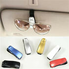 1x Fashion Car Vehicle Sun Visor Sunglasses Eye Glasses Card Pen Holder Clip Car