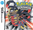 Pokemon -- Platinum Version (Nintendo DS, 2009) - Game Only