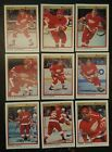 1990 91 OPC PREMIER DETROIT RED WINGS Select from LIST HOCKEY CARDS O-PEE-CHEE