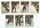 1990 91 OPC PREMIER PITTSBURGH PENGUINS Select from LIST HOCKEY CARDS O-PEE-CHEE