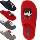 Womens Ladies Warm Comfort Slippers Slip On Girls Festive Novelty Mules Shoes UK
