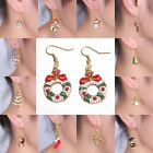 Christmas Xmas Earrings Women Drop Dangle Earrings New Year Fashion Jewelry Gift