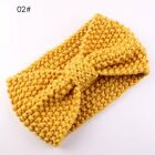 Cute Kids Girl Baby Toddler Crochet Bow Headband Hair Band Accessories  Winter