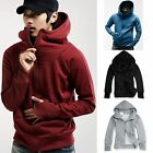 Kyпить Men's Winter Hoodie Warm Hooded Sweatshirt Coat Jacket Outwear Sweater Slim Tops на еВаy.соm