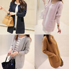New Women Casual Long Sleeve Knitted Cardigan Sweaters Tricotado Cardigan LAUS