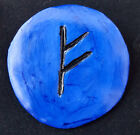 Hand Crafted Clay Brooches from Knitwitzuk. Rune Brooches.