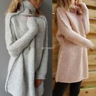 New Womens Ladies Long Sleeve Loose Knitted Sweater Ladies Casual Jumper Tops
