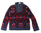 $145 Polo Ralph Lauren Childrens Boys Half Zip Pullover Fleece Sweater Jacket
