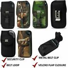 Extra Heavy Duty Pouch Belt Clip Holster Case Cover For Motorola DROID TURBO 2